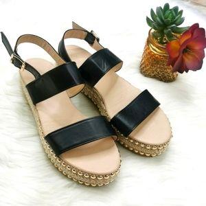Olivia & Kate Platform Studded Shoes Size 9